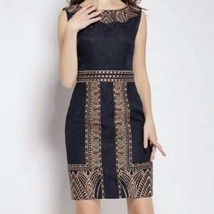Dresses & Skirts - 💕NWT Gorgeous Embroidered Jacquard Dress